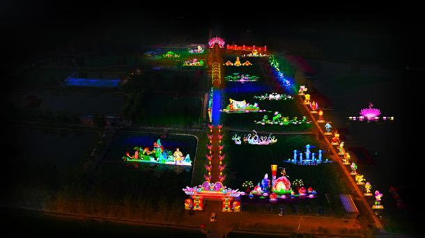 2016十里银滩黄河灯会